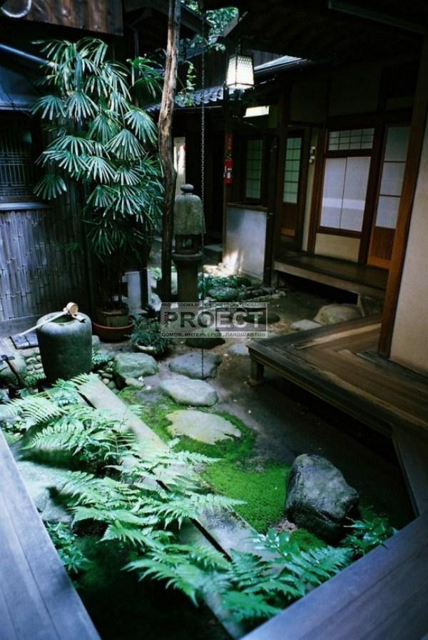 японский дворик