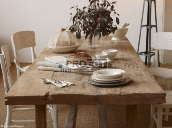 Country french dining room tables