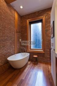Кирпич в ванной комнате | 39 идей использования кирпича в интерьере ванной комнаты