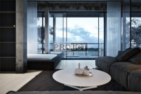 потрясающая квартира-студия с стиле минимализм