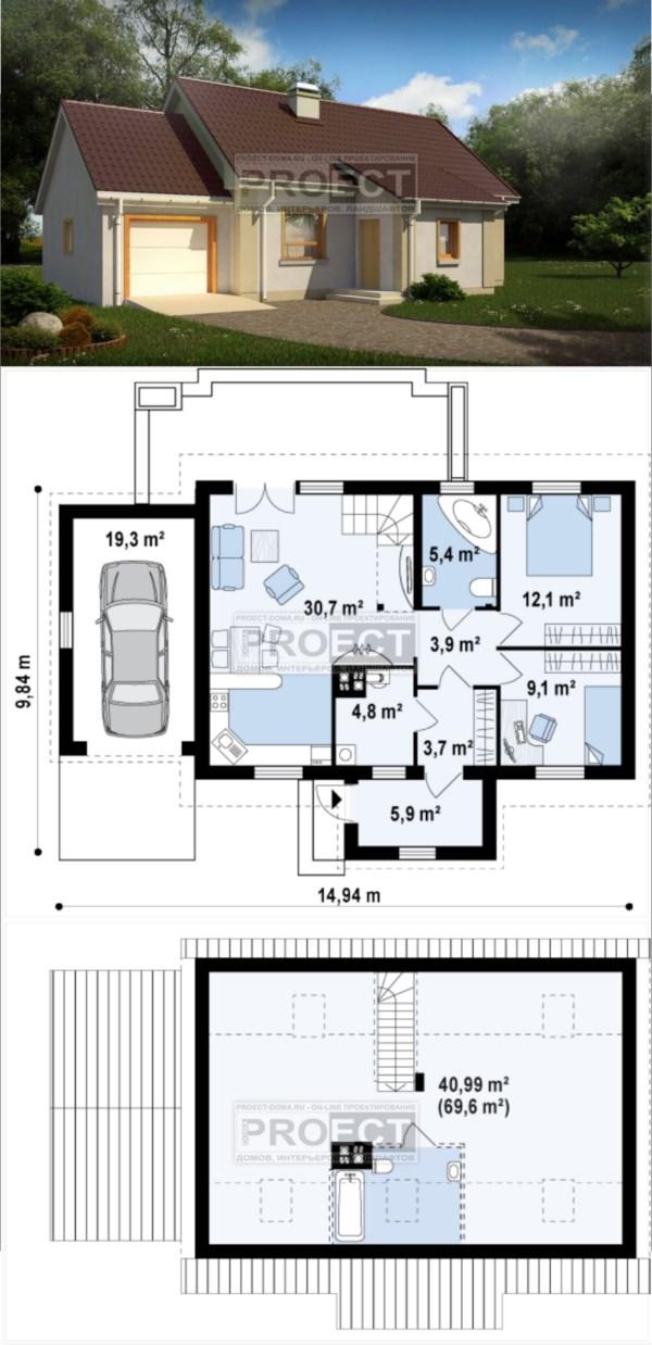 Где купить готовый проект дома