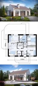Купить готовый проект каркасного дома онлайн